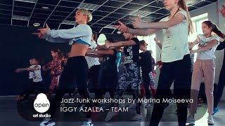 Iggy Azalea – Team Jazz funk workshops by Marina Moiseeva at MILKSHAKE VIII by Open Art Studio