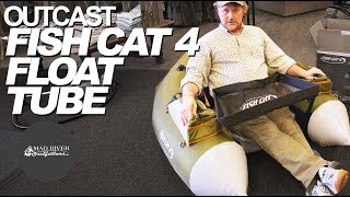 Outcast Fish Cat 4 Float Tube Unboxing amp Overview