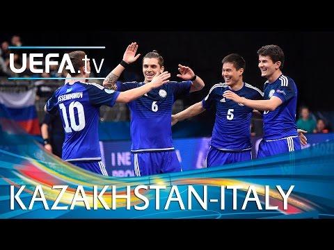 Futsal EURO Highlights: Watch Kazakhstan shock holders Italy