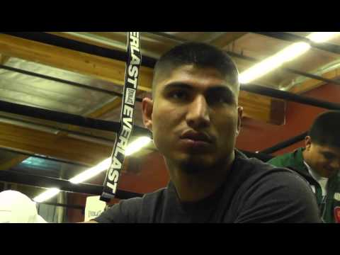 mikey garcia on gamboa or crawford fight EsNews Boxing