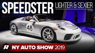 2019 Porsche 911 Speedster: Pared back in design, not performance | New York Auto Show 2019