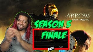 ARROW SEASON 5 FINALE   REACTION & RECAP (Season 5 Episode 23 Reaction)