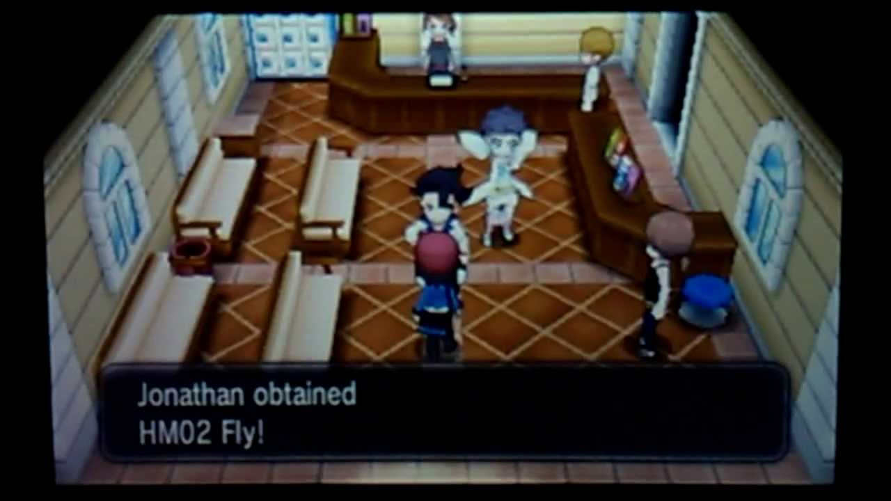 Pokemon X and Y Where to get HM Fly Location - YouTube