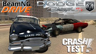 BeamNG Drive mod Dodge Charger RT Crash Test