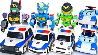 Bad minions escaped from prison! TOYCOP! Protect the village with Robocar Poli! - DuDuPopTOY