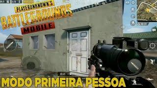 PUBG MOBILE ATUALIZAÇÃO - MODO PRIMEIRA PESSOA (FPP) - Sr Droid