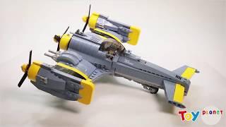 ĐỒ CHƠI XẾP HÌNH CAO CẤP/XẾP HÌNH MÁY BAY CHIẾN ĐẤU CƠ F-26 TEMPEST/TOYPLANET.VN