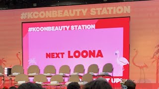 [LIVE] LOONA at KCON Beauty Station