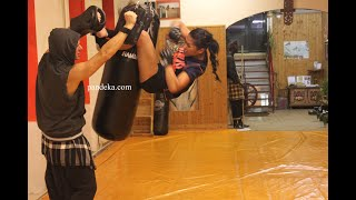 Self-defence with Pendekar 3° Puti