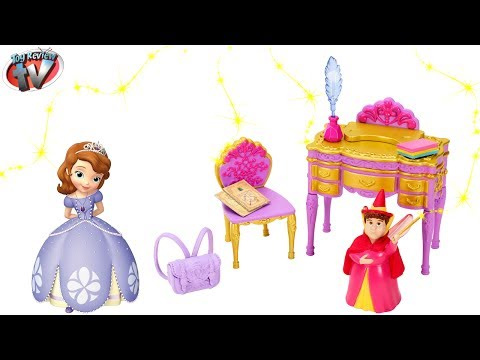 Disney Sofia The First: Royal Classroom Play Set Toy Review. Mattel