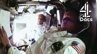 Apollo 11 Video Transmission from Halfway to the Moon
