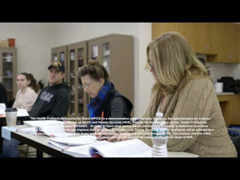 Union County College Health Profession Opportunity Grant (HPOG)