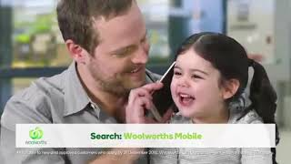 Woolworths Mobile Phone Plans TV Commercial 2016