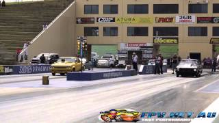 TOP SPORTSMAN DRAG RACING SYDNEY DRAGWAY 12.4.2015