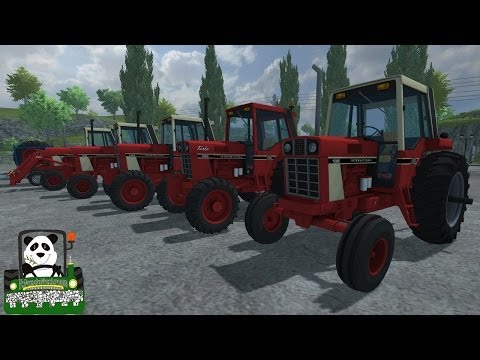 Farming Simulator 2013 Mod Review International Harvester Series 86 Tractors