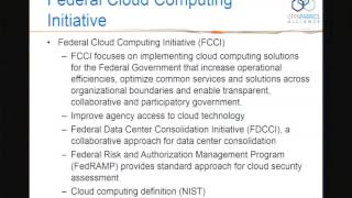 Cloud computing for DoD