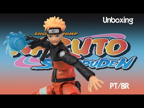 Caixa de Pandora #168 - Naruto Uzumaki - Shippuden  - SH Figuarts - PT/BR
