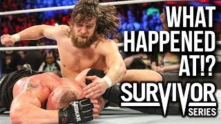 What Happened At Wwe Survivor Series 2018