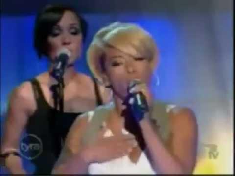Keyshia Cole feat Amina - Shoulda Let You Go (Live)