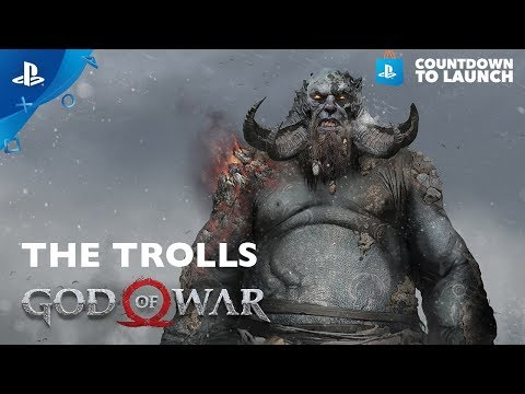 God of War's Bestiary: The Troll | Countdown to Launch thumbnail