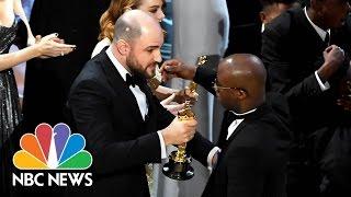 'La La Land Over 'Moonlight': Memes, Reactions To Hollywood's Oscar Mix-Up   NBC News