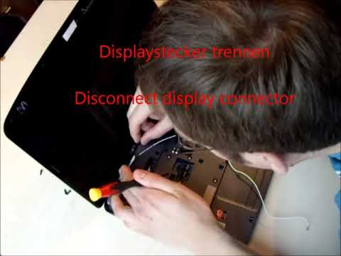Acer Aspire 5536 zerlegen Mainboard Disassembly guide Repair