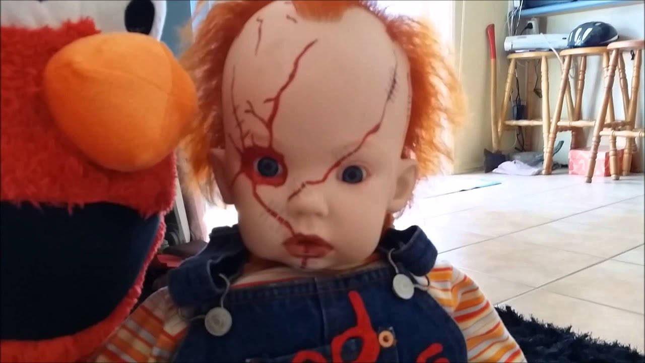 Chucky Reborn Baby Doll Child S Play Halloween Prop Scarey