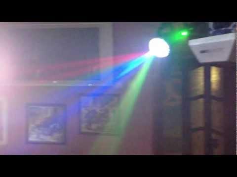 Световая аппаратура и дым машина