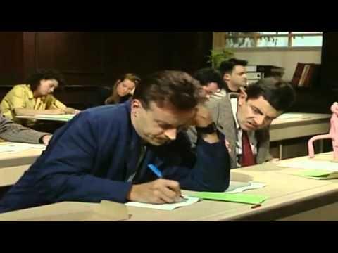 Mr bean làm bài kiểm tra
