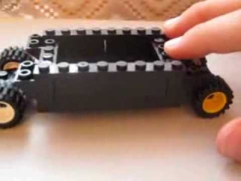 Сборка авто Хаммер из Lego