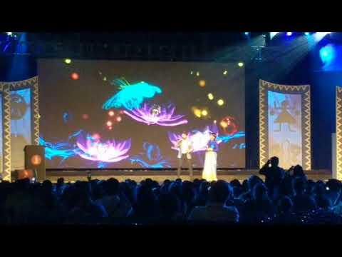 Prosenjit Chatterjee and Rachana Banerjee live at IBFA at NABC 2018