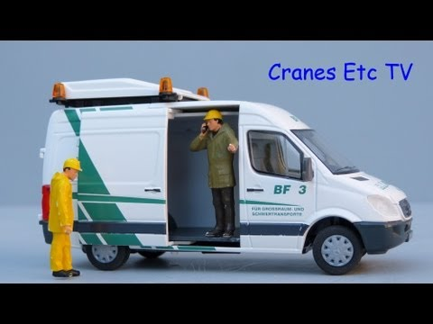 Cranes Etc TV: HTM (Conrad) Mercedes-Benz Sprinter Van 'H N Krane' Review