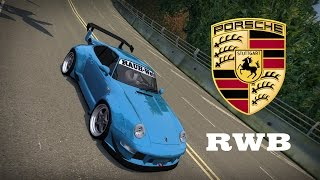 Need for Speed Most Wanted - Porsche 911 GT2 v3 RWB Mod