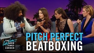 Download Lagu Beatboxing with the Pitch Perfect 2 Cast Gratis STAFABAND