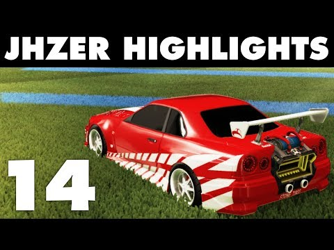 JHZER Highlights Montage 14 | Competitive Rocket League