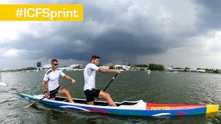 LIVE 10.08.2014 (MORNING) - ICF Canoe Sprint World Championships -- MOSCOW