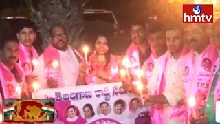 Kuwait TRS NRI Section Pays Tribute to Immortal Jawans  | hmtv