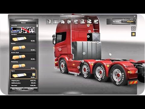 Scania Mega Tuning Mod ETS2 (Euro Truck Simulator 2)