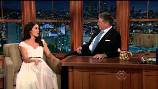 Abigail Spencer - gorgeous and funny - Craig Ferguson show