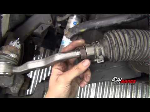 Tacoma Tie Rod (Inner & Outer) Replace