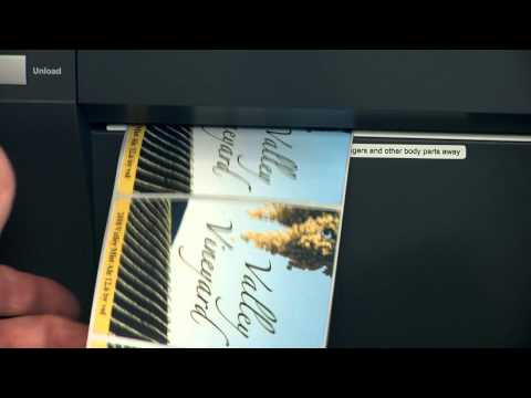 Valley Vineyard Wine Labels - LX900 Color Label Printer Case Study