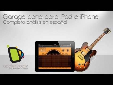 Garage Band para iPad e iPhone