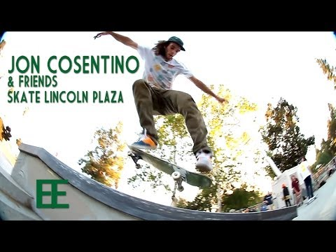 Jon Cosentino and Friends Skate Lincoln Plaza