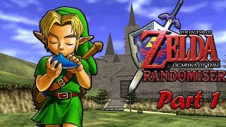 Zelda Ocarina of Time Randomiser: Part 2 (Song of Time Already?!)