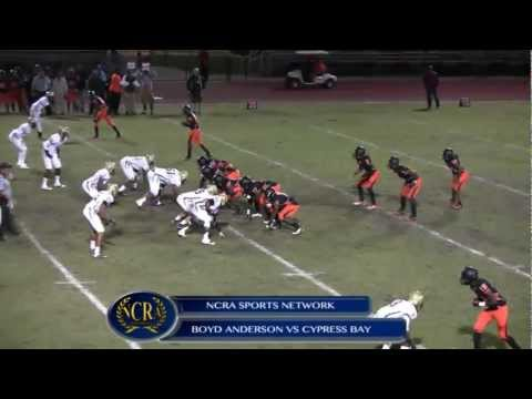 BOYD ANDERSON COBRAS VS CYPRESS BAY LIGHTNING (1ST HALF)- LIVE GAME BROADCAST