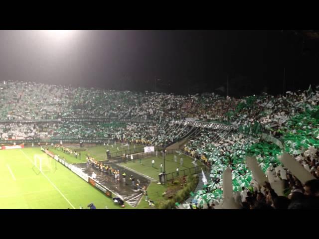 Salida: Atlético Nacional vs. Defensor Sporting.