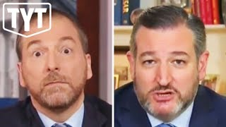 Ted Cruz UNMANNED on MSNBC