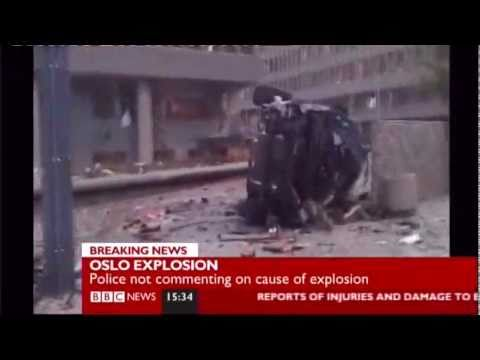 Oslo Explosion BBC report  Police confirm a Bomb Attack Breaking News