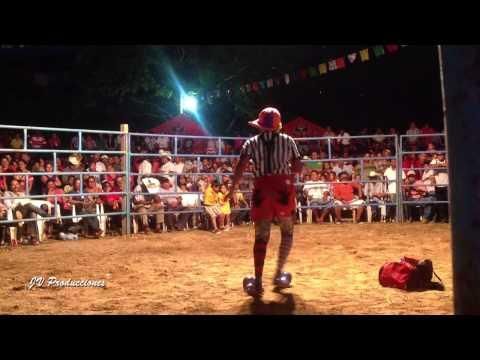 Show del Payaso Pistachon en el Jaripeo de Huazolotitlan Oax.