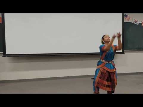 Akashlynn's Classical Dance Performance ( Dheem Ta Da Re Dani)  In Hokkaido University, Japan video
